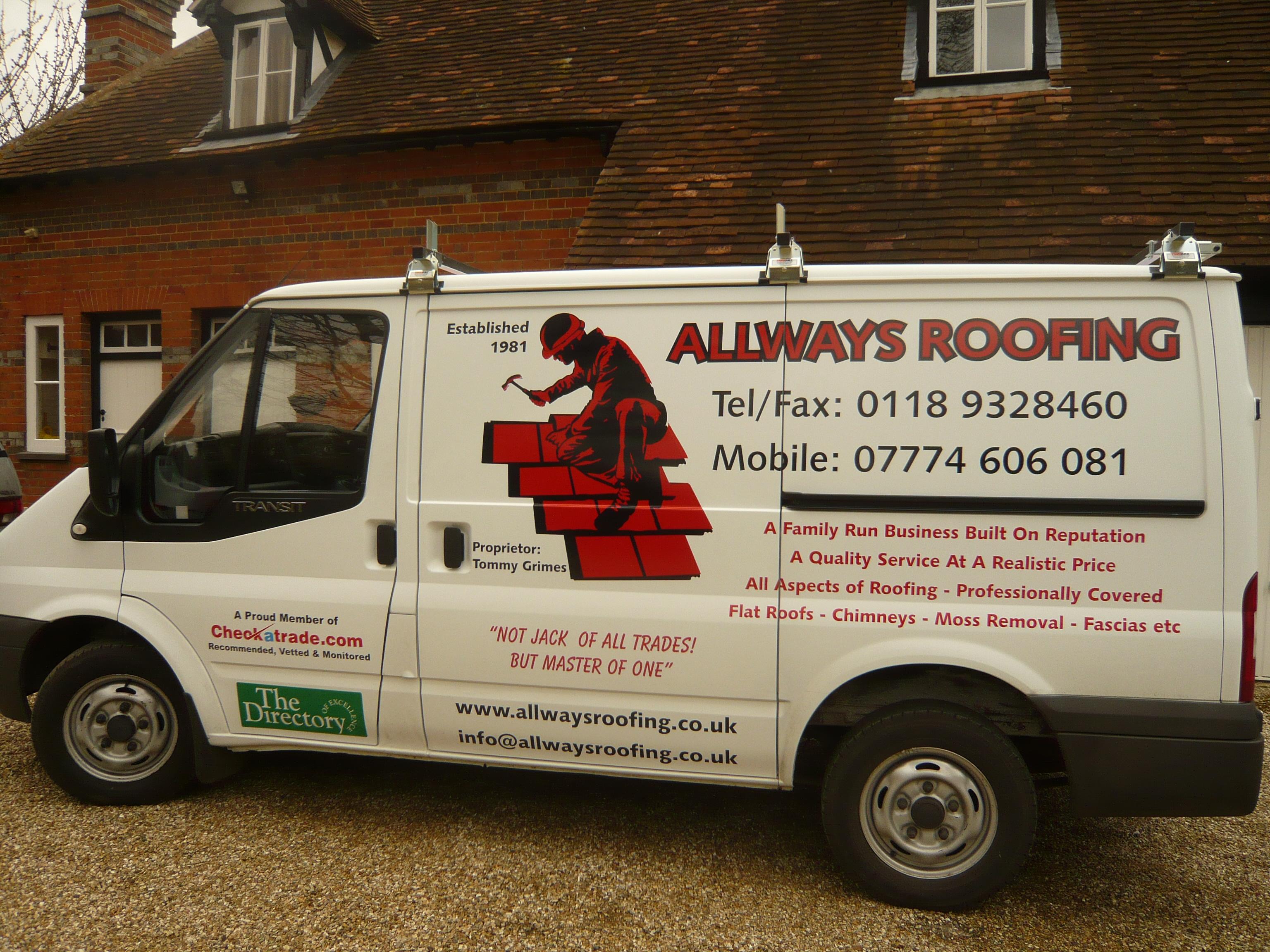 Lovely Allways Roofing Team Latest Van