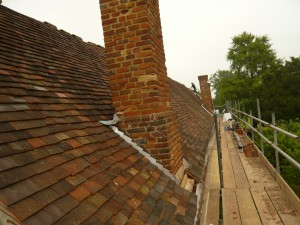 Listed Graded Building Roofing Project
