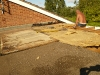 Flat Roof Gallery 1 - Removing Damaged Roof