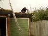 Flat Roof Gallery 1 - Fixing Felt Edging