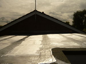 Flat Roofing Project Finished